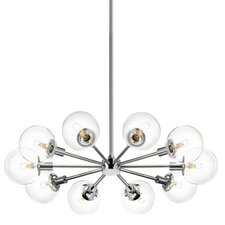 <strong>Sonneman</strong> Orb 10 Light Radial Pendant