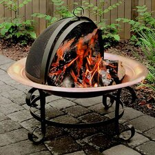 <strong>Landmann</strong> Copper Fire Pit with Spark Guard