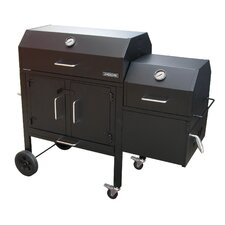 <strong>Landmann</strong> Black Dog 42XT Charcoal Grill and Smoker