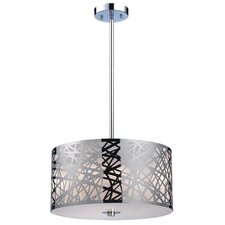 Tronic 3 Light Drum Pendant