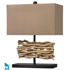 """Voyage 21"""" H Table Lamp with Rectangular Shade"""