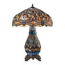 "Dragonfly 26"" H Table Lamp"