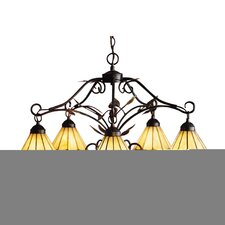 Grape Trellis 5 Light Chandelier