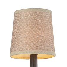Veronica Tan Textured Linen Shade