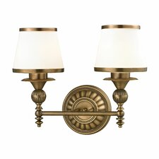 <strong>Elk Lighting</strong> Smithfield 2 Light Bath Vanity Light