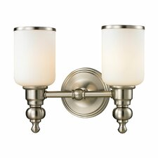 <strong>Elk Lighting</strong> Bristol 2 Light Bath Vanity Light