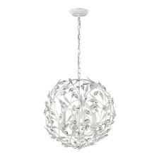 Circeo 4 Light Globe Pendant