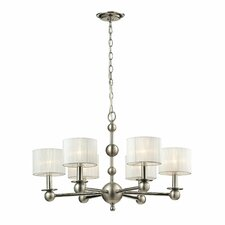 Madera 6 Light Drum Chandelier