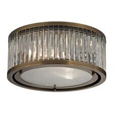 Linden 2 Light Flush Mount