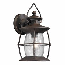 Village Lantern 1 Light Outdoor Wall Sconce