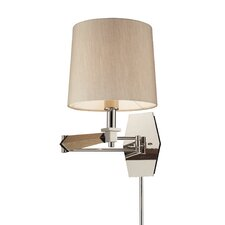 Jorgenson 1 Light Swing Arm Wall Sconce