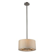 Jorgenson 3 Light Drum Pendant