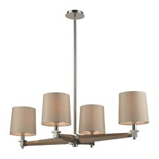 <strong>Elk Lighting</strong> Jorgenson 4 Light Drum Chandelier