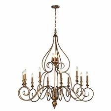 <strong>Elk Lighting</strong> Hamilton 15 Light Candle Chandelier