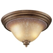 <strong>Elk Lighting</strong> 2 Light Flush Mount