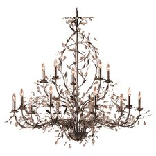 Circeo 15 Light Candle Chandelier