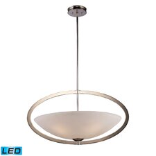 Dione 5 Light Inverted Pendant