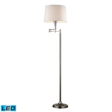 1 Light Swing Arm Floor Lamp