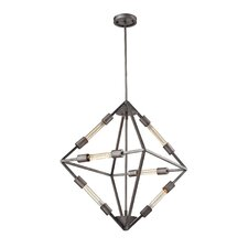 Laboratory 6 Light Mini Chandelier