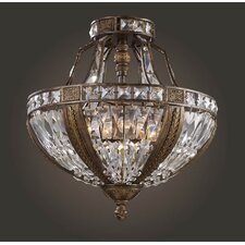 Trump Home Millwood Semi Flush Mount