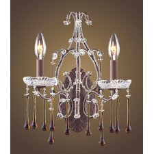 Opulence 2 Light Wall Sconce