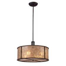 Barringer 4 Light Drum Pendant