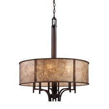 Barringer 6 Light Drum Pendant