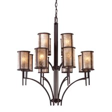 Barringer 12 Light Chandelier and Shade