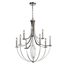 <strong>Elk Lighting</strong> Dione 9 Light Chandelier