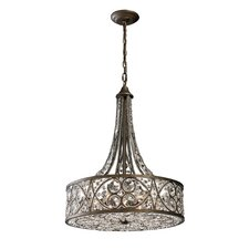 <strong>Elk Lighting</strong> Amherst 6 Light Drum Pendant
