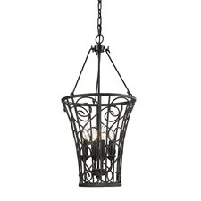 Santiago 4 Light Foyer Hanging Pendant
