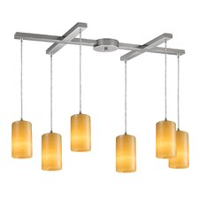 <strong>Elk Lighting</strong> Piedra 6 Light Pendant