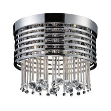 Rados Five Light Flush Mount