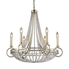 <strong>Elk Lighting</strong> New York 6 Light Chandelier
