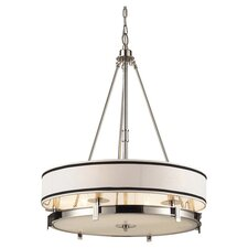 <strong>Elk Lighting</strong> Trump Home Central Park Tribeca 6 Light Drum Pendant