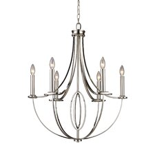 Dione 6 Light Chandelier