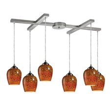 Claudio 6 Light Pendant