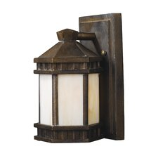 Mission Abbey 1 Light Outdoor Wall Sconce