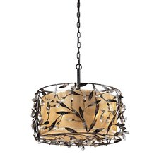 <strong>Elk Lighting</strong> Freeport 3 Light Drum Pendant