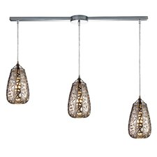 <strong>Elk Lighting</strong> Nestor 3 Light Linear Pendant