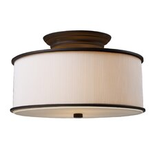 Lureau 2 Light Semi Flush