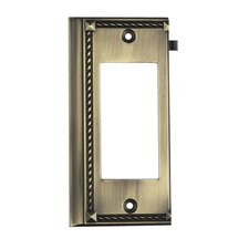 Clickplates Large End Switch Plate in Antique Brass