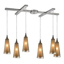 <strong>Elk Lighting</strong> Freeport 6 Light Pendant