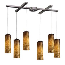 Maple 6 Light Pendant