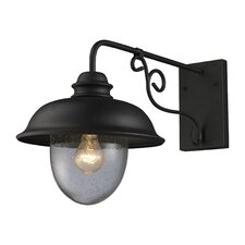 <strong>Elk Lighting</strong> Streetside Cafe 1 Light Outdoor Wall Lantern