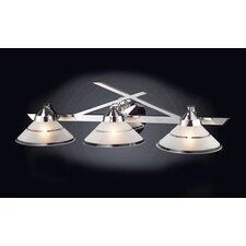 <strong>Elk Lighting</strong> Refraction 3 Light Vanity Light