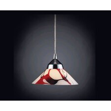 Refraction 1 Light Mini Pendant