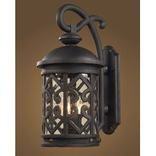 <strong>Elk Lighting</strong> Tuscany Coast 2 Light Outdoor Wall Lantern