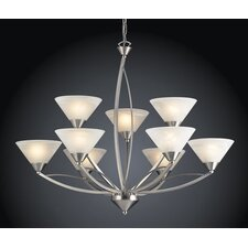 <strong>Elk Lighting</strong> Elysburg 9 Light Chandelier