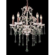 Opulence Candle 5 Light Chandelier